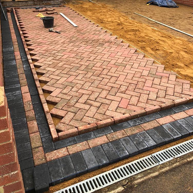 milton keynes block paving
